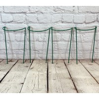 Garden Hoop Plant Bow Support System 20cm x 35cm (Pack of 4)