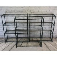 Greenhouse Staging Shelving Racking 4 Tier (Pack of 3)