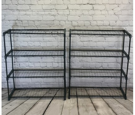 Greenhouse Staging Shelving Racking 4 Tier (Pack of 2)