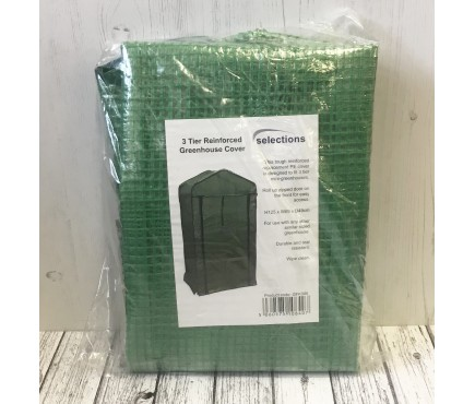 3 Tier Mini Greenhouse Re-inforced Replacement Cover