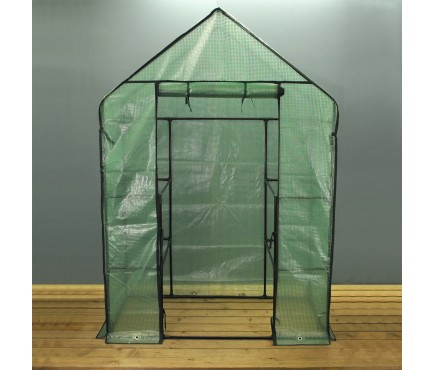 Walk In Greenhouse with Reinforced Cover