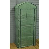 Four Tier Mini Greenhouse with Reinforced Cover