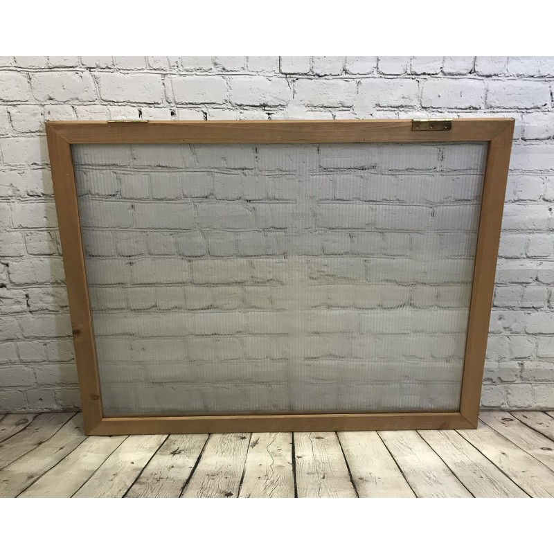 Lid Panel for Wooden Mini Growhouse (Wooden Frame and Polycarbonate)