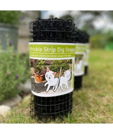 Plant Prickle Strip Dig Stopper Anti Dog and Cat Protection (2m x 30cm)