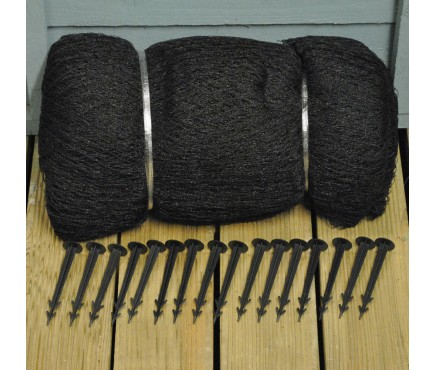 Protective Pond Netting Cover with 16 Pegs (9m x 6m)