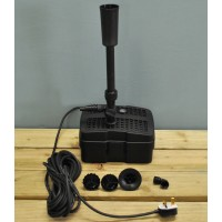 Submersible Pond Pump Fountain Kit with UVC Lamp (50watt)