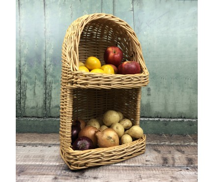 Wicker Willow Vegetable & Fruit Storage Basket