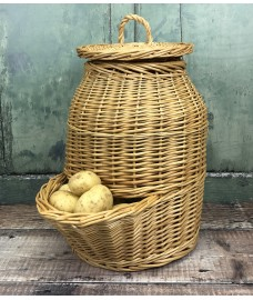 Willow Potato Storage Hopper Basket