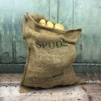 Hessian Spuds Storage Sack