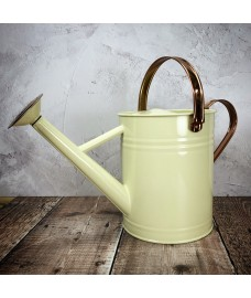Heritage Cream Metal Watering Can (3.5 Litre)