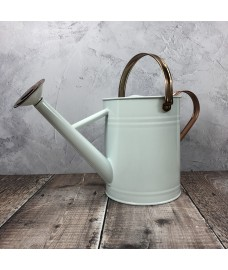 Ivory & Copper Metal Watering Can (3.5 Litre)