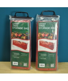 Set of 2 Christmas Tree Storage Bags in Red by Garland