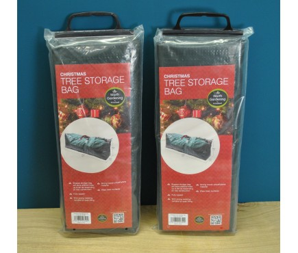 Set of 2 Christmas Tree Storage Bags in Green by Garland
