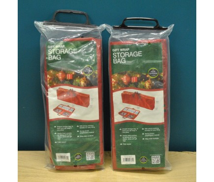 Set of 2 Gift Wrap Storage Bags by Garland