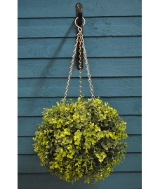 Box Leaf Effect Artificial Topiary Ball by Gardman