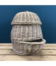 Wicker Potato Storage Hopper by Fallen Fruits