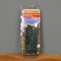 Aluminium Greenhouse Shading Fixing Clips (Pack of 30) by Bosmere