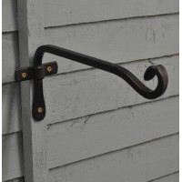 Blacksmith Square Hanging Basket Hook (26cm) by Gardman