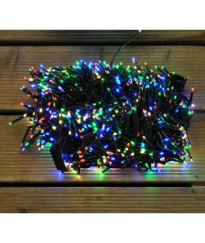 960 LED Multi Colour Cluster Supabright String Lights (Mains) by Premier