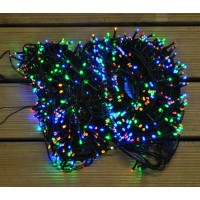 960 LED Multi-Coloured Supabright String Lights (Mains) by Premier