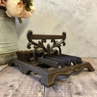 Cast Iron Boot Brush & Shoe Scraper
