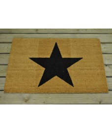 Large Star Outdoor Coir Doormat