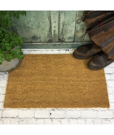 Natural Coir Indoor & Outdoor Doormat (40cm x 60cm)