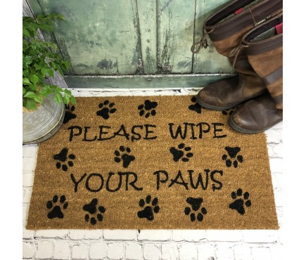 Wipe Your Paws Indoor & Outdoor Coir Doormat
