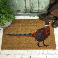 Pheasant Indoor & Outdoor Coir Doormat
