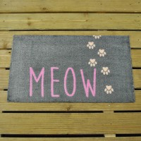 Cat Paws Meow Doormat (75 x 45cm) by Smart Garden