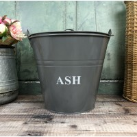 Fireside Ash Bucket in French Grey