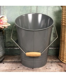 Fireside Coal Scuttle in French Grey