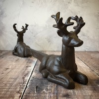 Cast Iron Stag Shoe Scraper