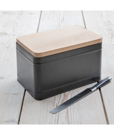 Borough Bread Box - Charcoal by Garden Trading