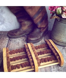 Wooden Double Boot Brush