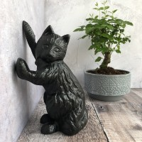 Cast Iron Cat Doorstop