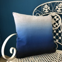 Blue Fade Scatter Cushion by Premier
