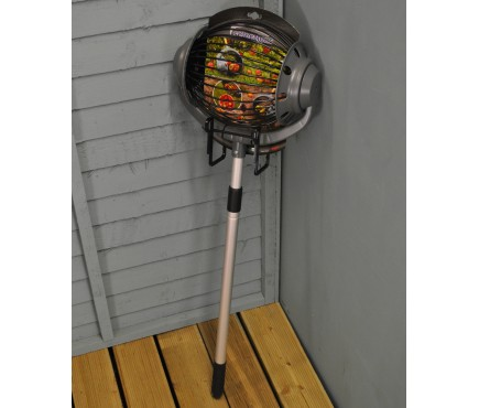 Rolling Apple Collector with Telescopic Handle and Bucket Clip
