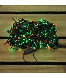 480 LED Red and Green Cluster Supabright String Lights (Mains) by Premier