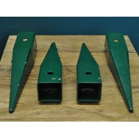 Ground Spikes for Wooden Garden Arch (Pack of 4)
