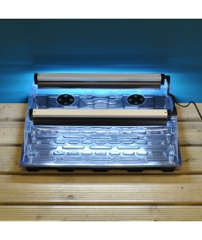 Large Seedling Propagator with Lights