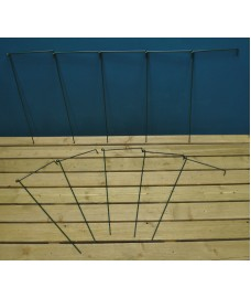 Garden Linked Metal Plant Support for Herbaceous Plants 70cm x 30cm (Pack of 10)
