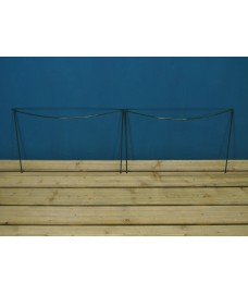 Garden Extra Wide Hoop Plant Bow Support System 60cm x 40cm (Pack of 2)