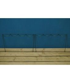 Garden Extra Wide Multi-Hoop Plant Bow Support System 60cm x 40cm (Pack of 2)