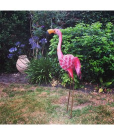 Flamingo Solar Light Garden Ornament
