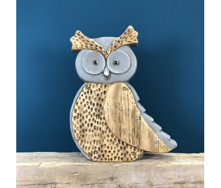 Owl Solar Light Ornament