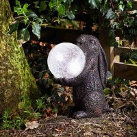 Rabbit Garden Ornament Solar Light