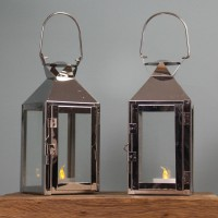 Milan Tealight Candle Lanterns (Set of 2)