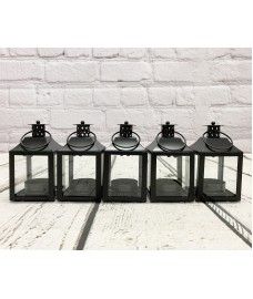 Garda Tealight Candle Lantern (Set of 5)