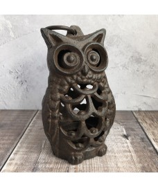 Cast Iron Owl Tealight Lantern